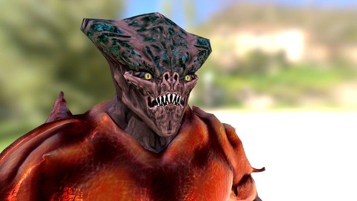 Reptile 3D Model