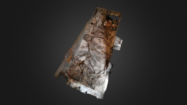 Tumbas Antropomorfas Moreda 3D Model