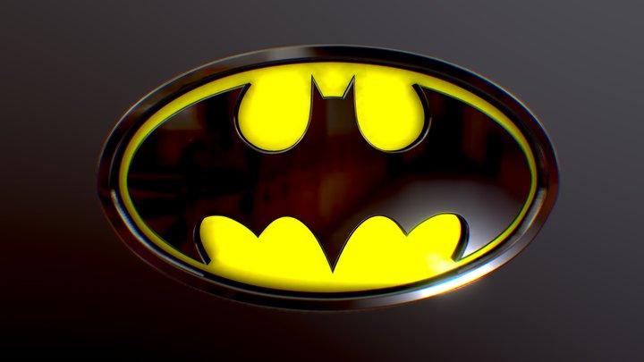 Batman Shield 01 3D Model