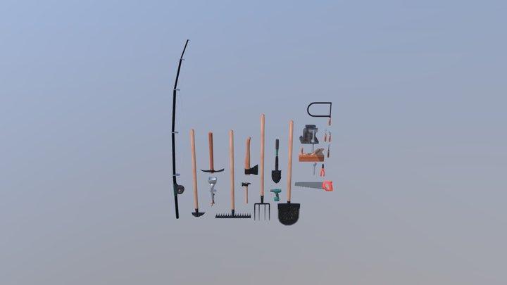 simple tools pack 3D Model