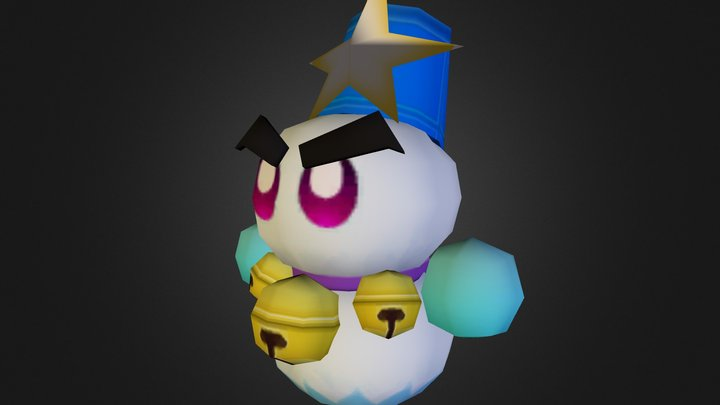 Wii - Kirbys Return to Dream Land - Super Chilly 3D Model
