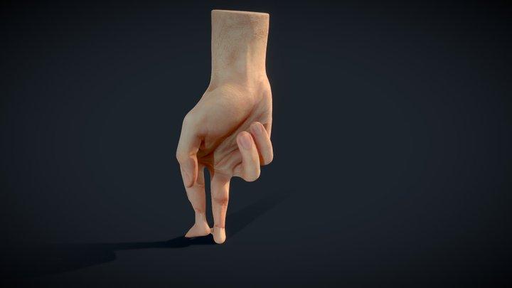 Walking hand 3D Model