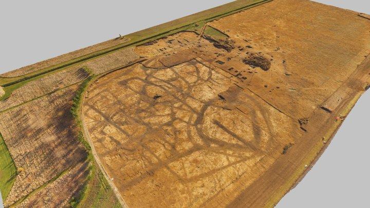 Iron Age and Roman farmstead in Cambridgeshire 3D Model