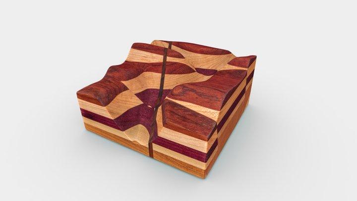 No. 87 - Geologic Block Model 3D Model