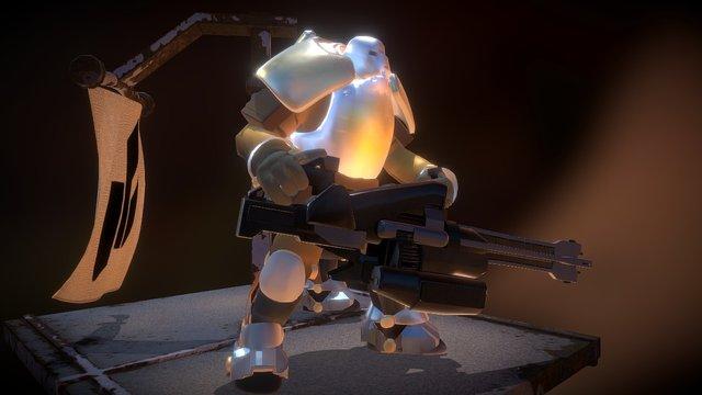 Destiny Cabal (Fan Art) 3D Model