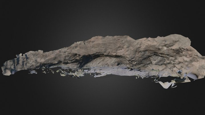 Cueva U1 Comallo 3D Model