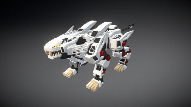 Liger Zero - Run Cycle 3D Model