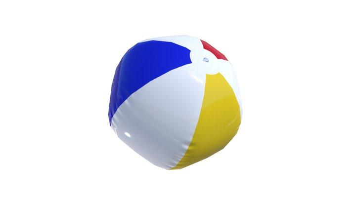 Beach ball (real-time) 3D Model