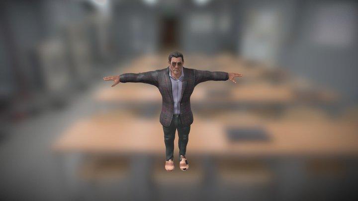 Gangster - T pose 3D Model