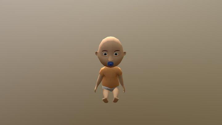 Baby1 Sit Back Down V1 3D Model