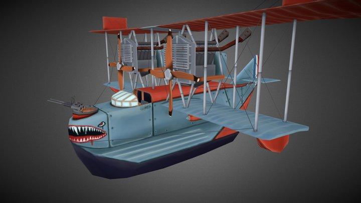 flying circus felixstowe F.2a 3D Model