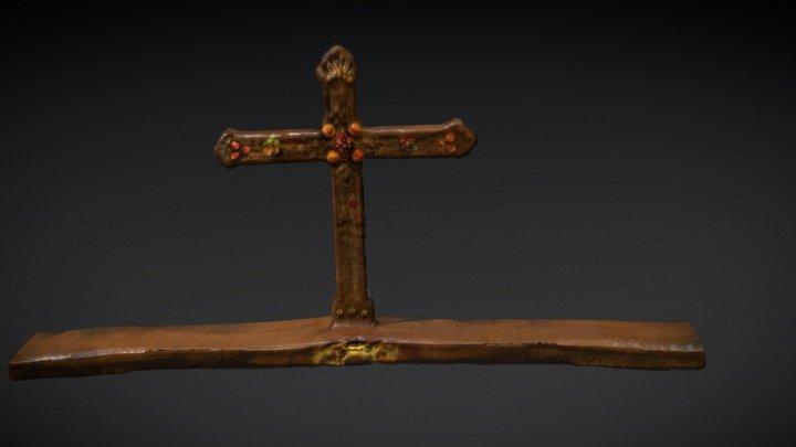 Dodford Church Cross 3D Model