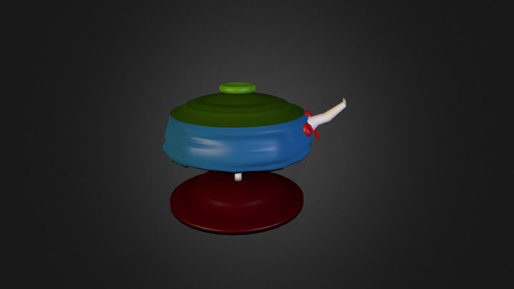 Happylilteapotdude 3D Model