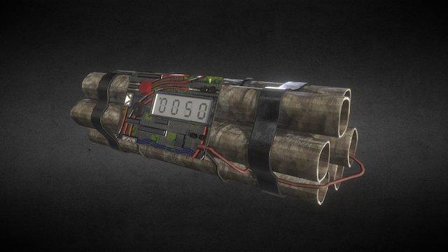 C4, Explosive, Device 3D Model