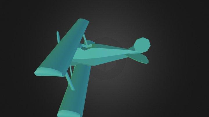 biplane 3D Model