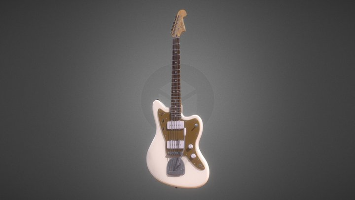 Squier Jazzmaster by Fender 3D Model