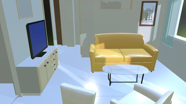 Apartman 1 3D Model