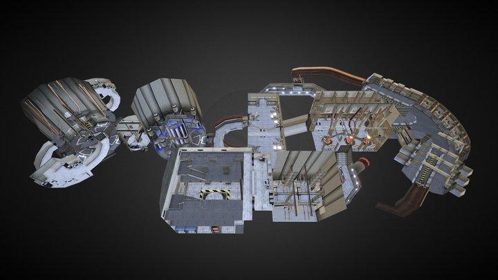 Level6 Zone4 (Level Design 2002) 3D Model