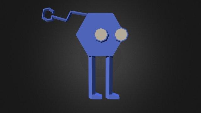 UC Char Blue Anim Full 3D Model