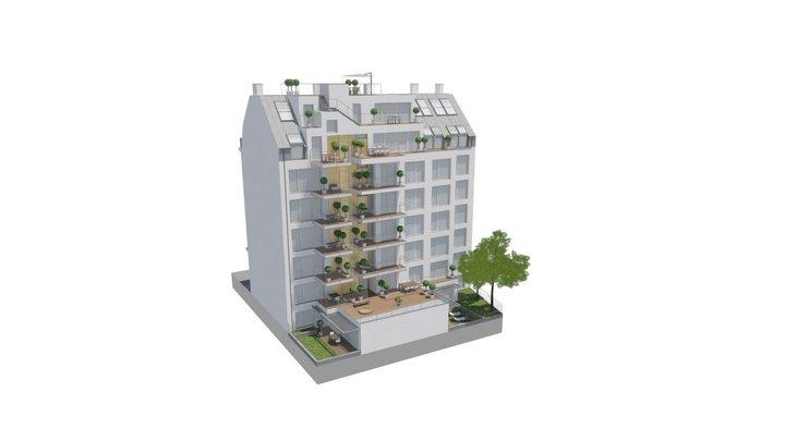 Der Goldene Strauss 3D Model