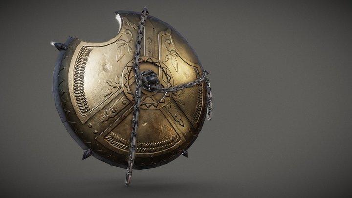 Apollo's shield 3D Model