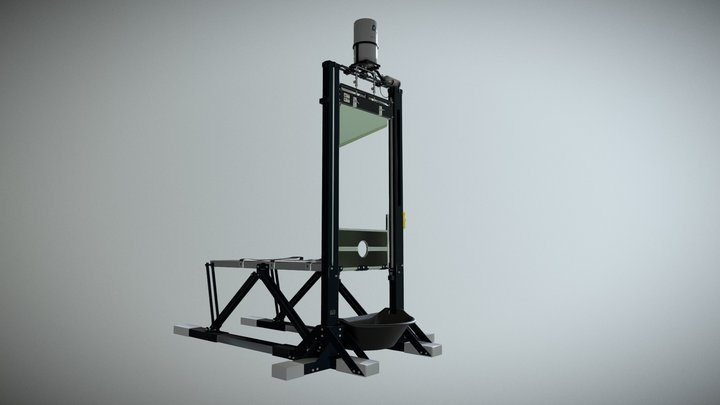 La French Guillotine 3D Model
