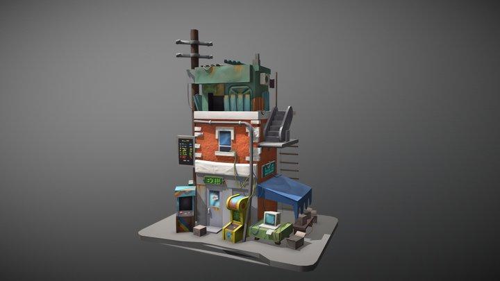 Recreation of artwork by Krzysztof Maziarz 3D Model