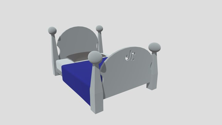 Junior's Bed 3D Model
