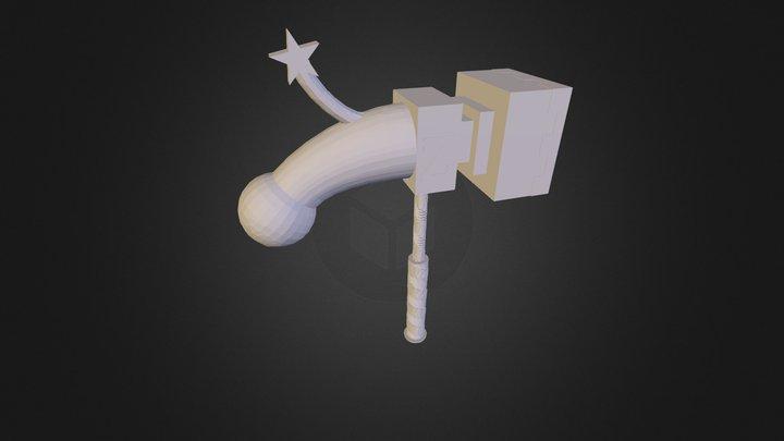 Warhammer of Zillyhoo 3D Model