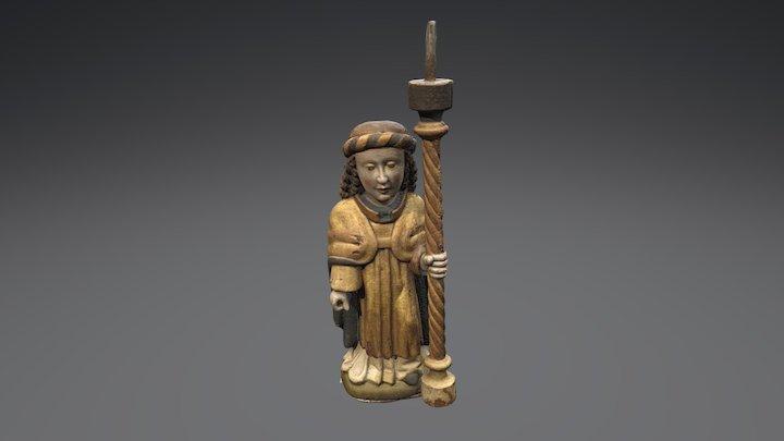 Sculpture 001 Historiska museet 3D Model