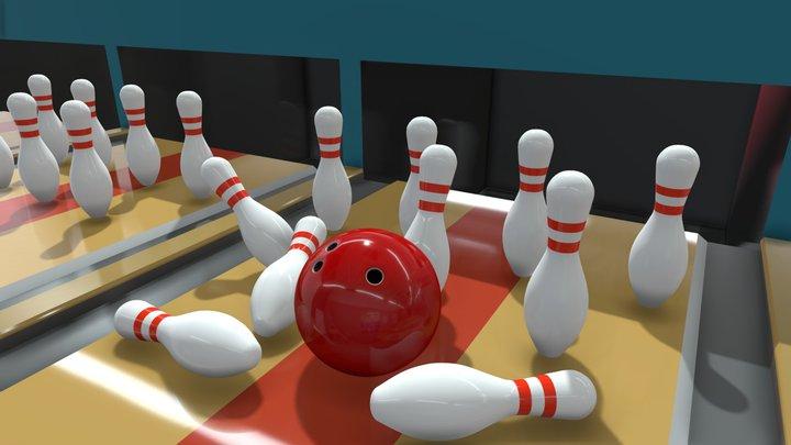Bowling 3D Model
