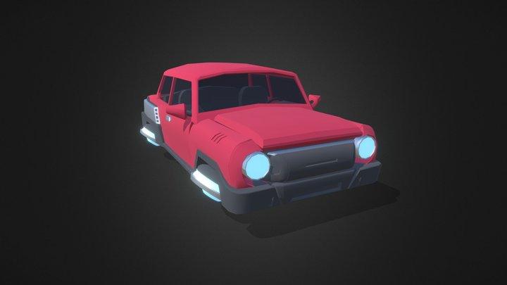 Car 2 detailed 3D Model