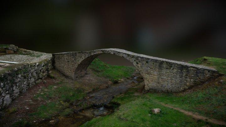 Puente - Ntra. Señora de la Hoz, Tobera (Burgos) 3D Model