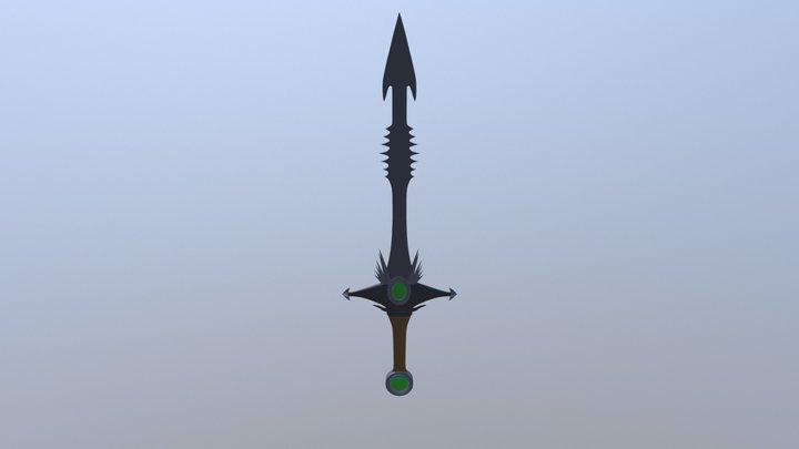 Gvsg Time Keeper 1H Sword 3D Model