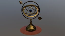 Armillary Sphere revisited 3D Model