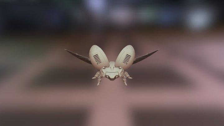 Test upload Beetle Ladybug 3D Model