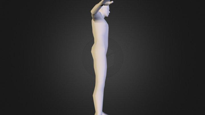 Human_806polys 3D Model