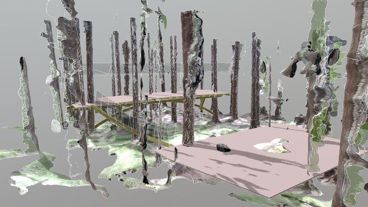 theater in the woods 2 3D Model