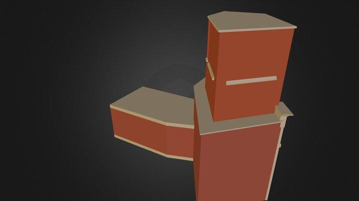city road 3ds 3D Model
