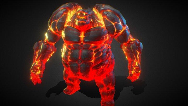 火焰泰坦 3D Model