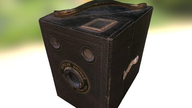 Old Brownie Camera photoscan 3D Model