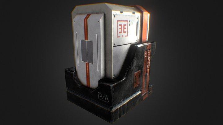Cyber Storage 3D Model