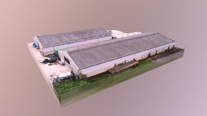 farm sheds 3D Model