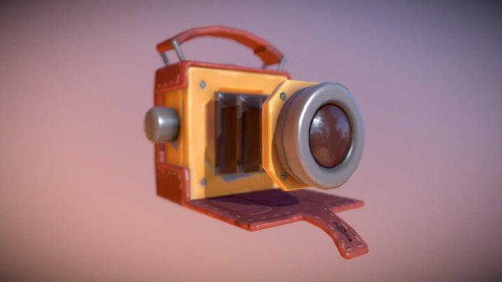 Stylized Camera 3D Model