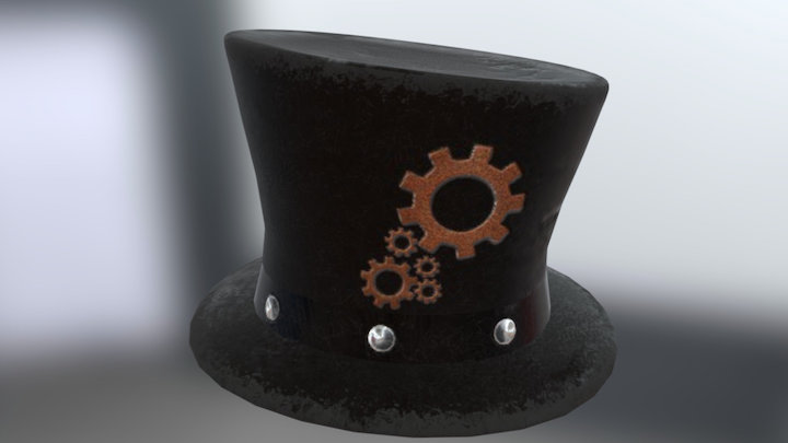 Steampunk Hat 3D Model