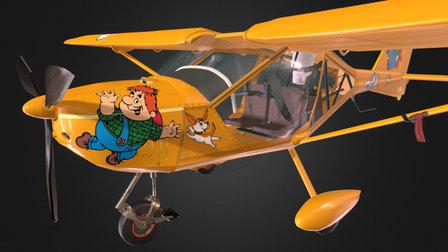 Karlsson Aircraft 3D Model