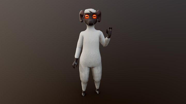 Gruff 3D Model