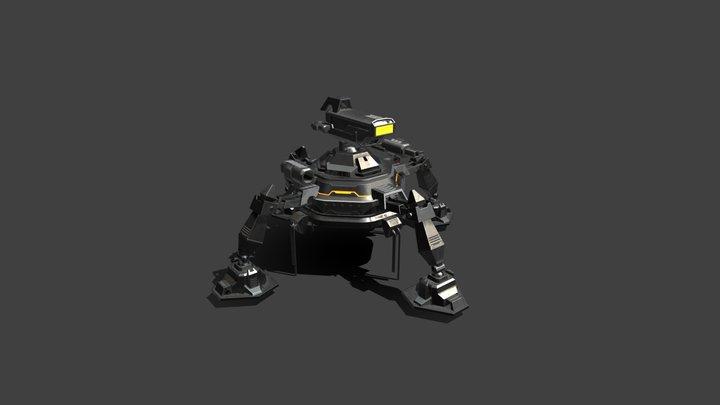 Spider Robo 3D Model