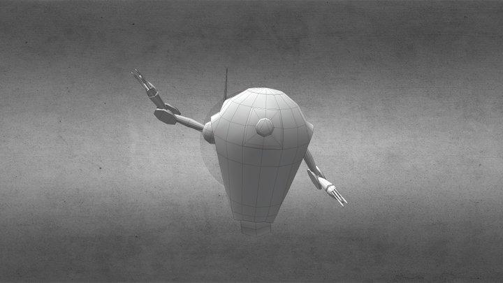 Robot v2.1 3D Model