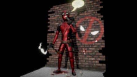 Deadpool - Mercenary with a Mouth 3D Model